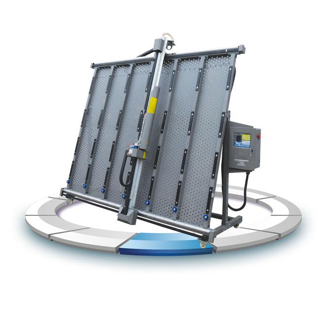 立式自动玻璃喷砂机加工后的效果是怎样的?